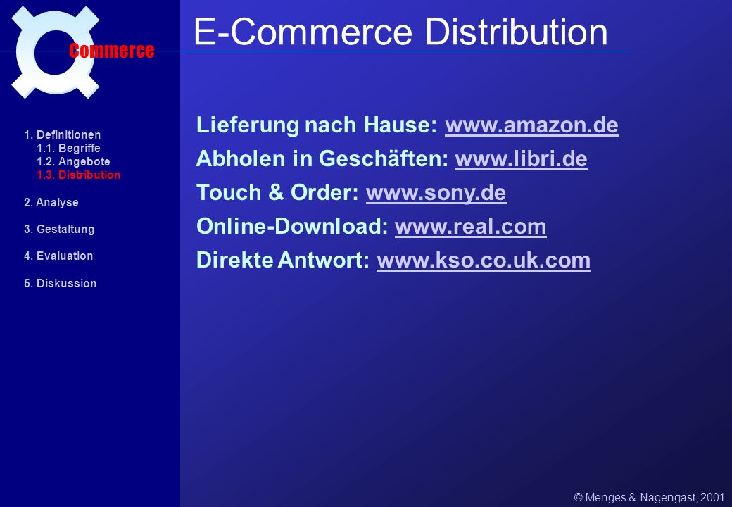 E-Commerce Distribution