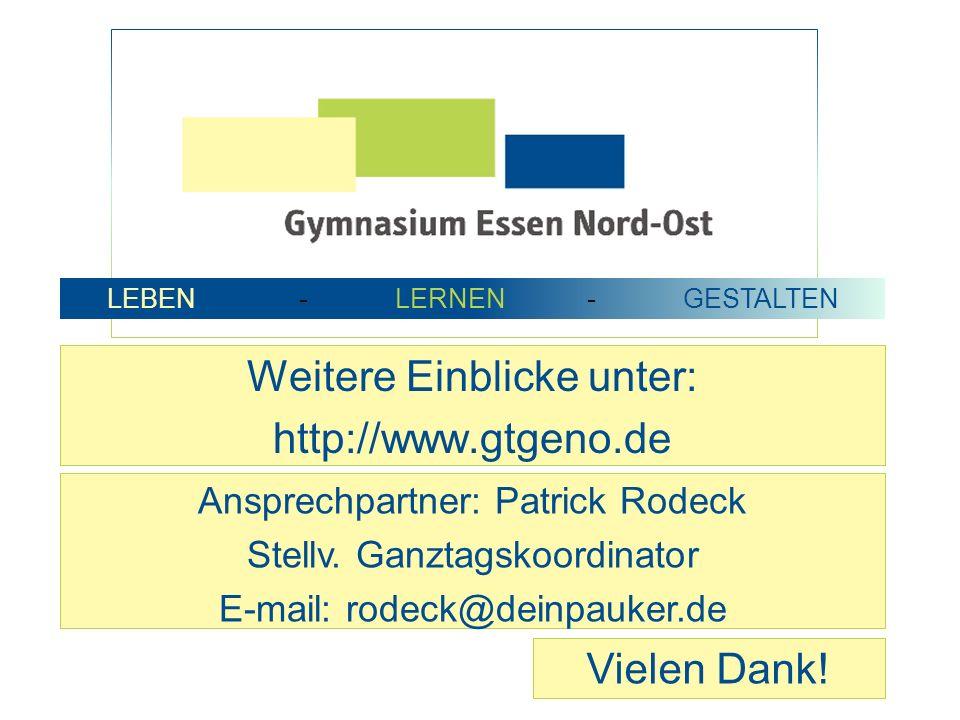 Weitere Einblicke unter: http://www.gtgeno.de