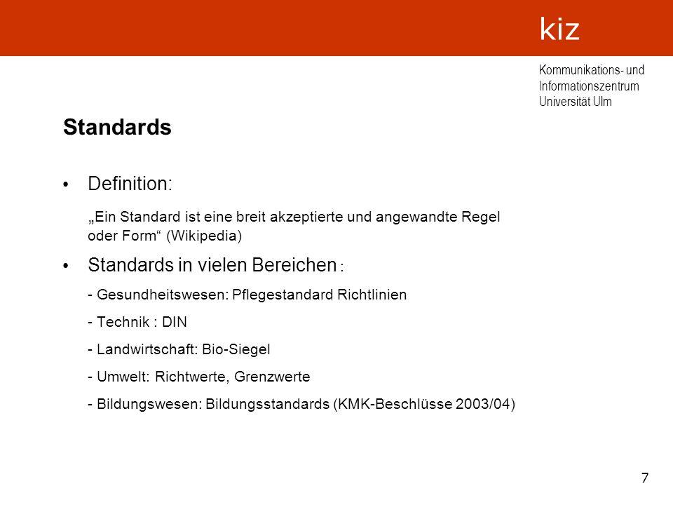 Standards Definition:
