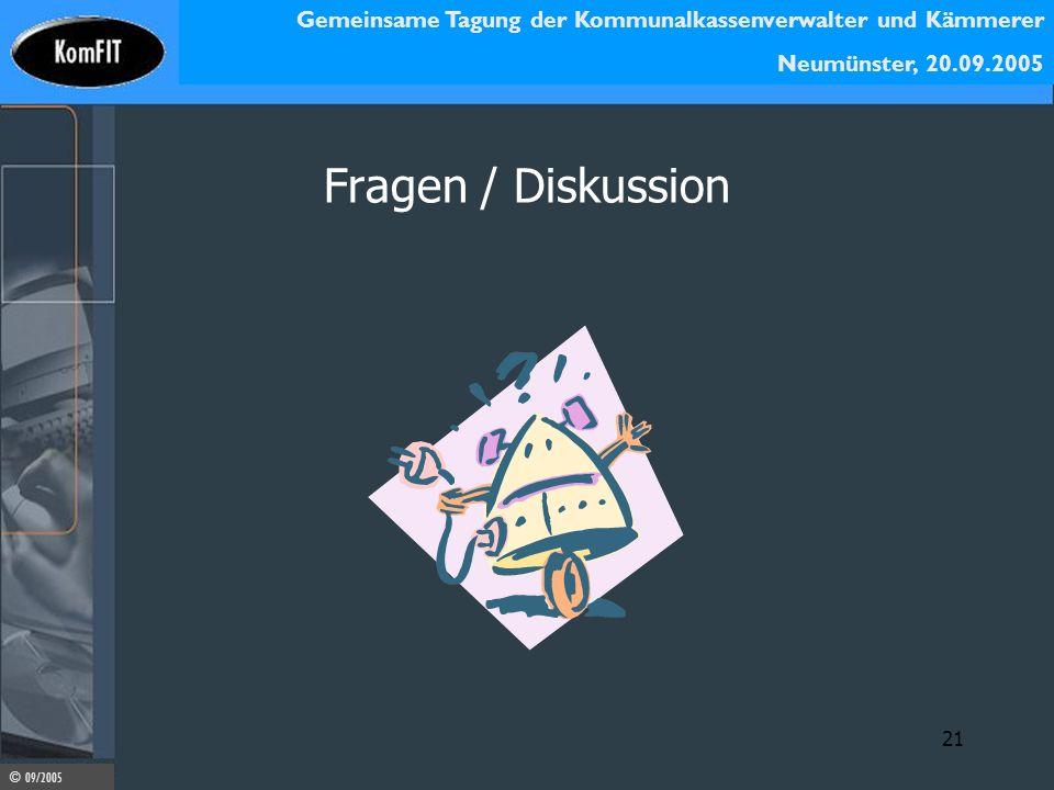 Fragen / Diskussion 21
