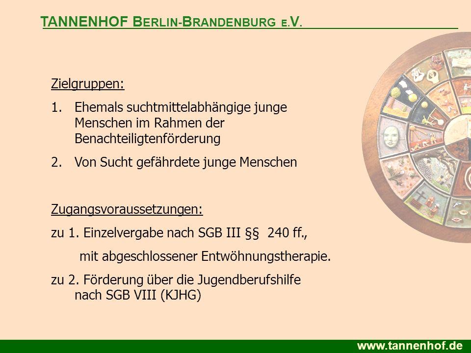 TANNENHOF BERLIN-BRANDENBURG E.V.