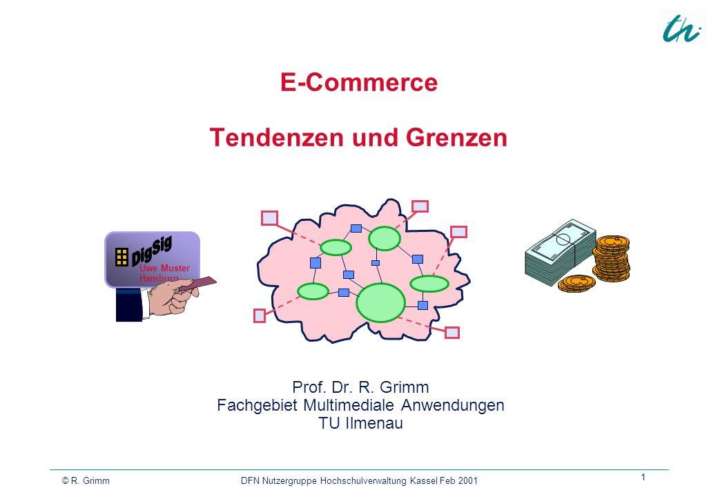 E-Commerce Tendenzen und Grenzen