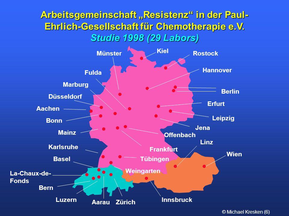 """Arbeitsgemeinschaft """"Resistenz in der Paul-Ehrlich-Gesellschaft für Chemotherapie e.V."""