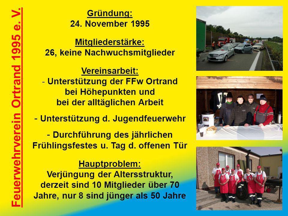 Feuerwehrverein Ortrand 1995 e. V.