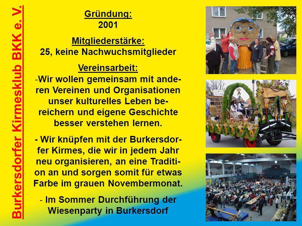 Burkersdorfer Kirmesklub BKK e. V.