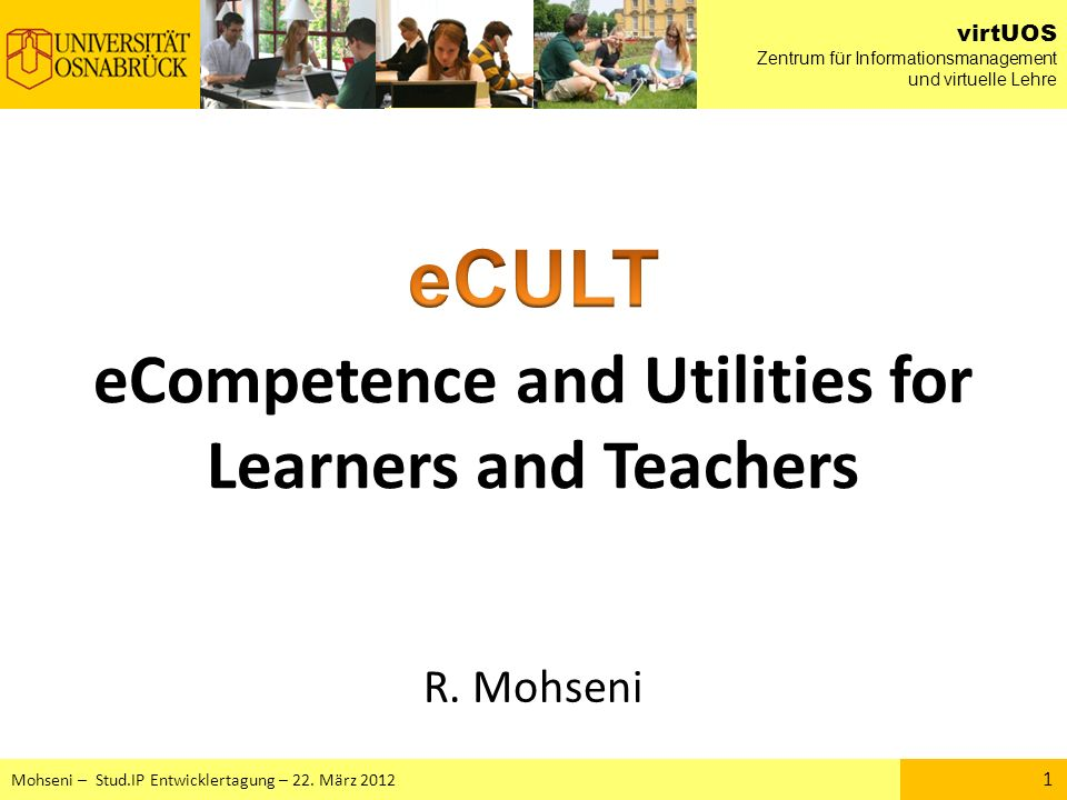 eCompetence and Utilities for Learners and Teachers
