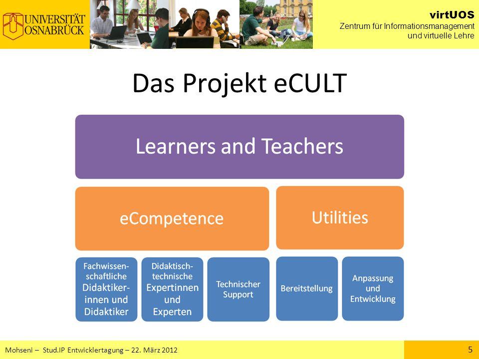 Das Projekt eCULT