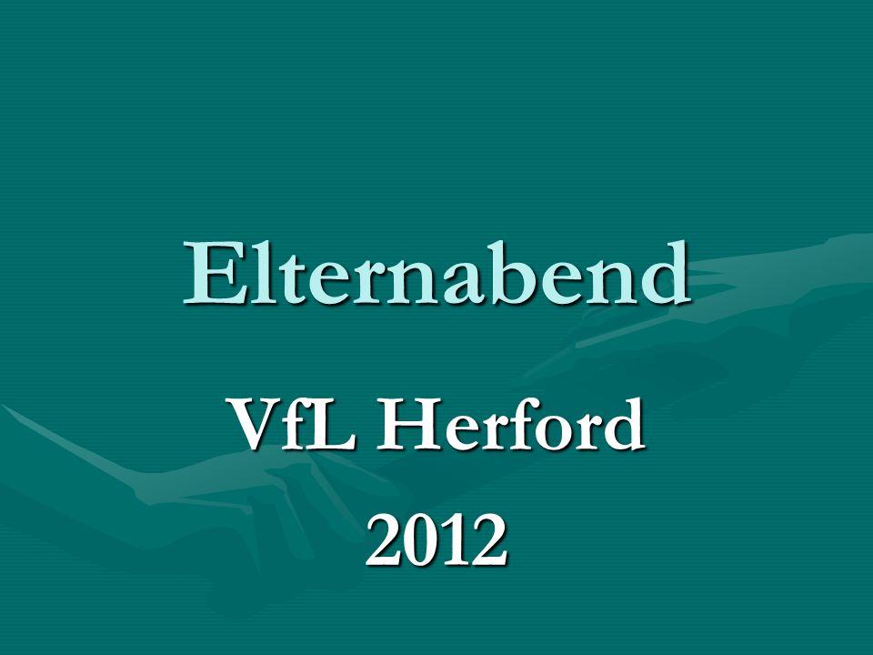 Elternabend VfL Herford 2012