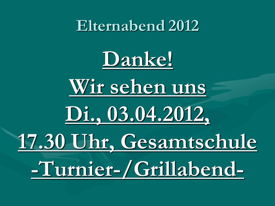 -Turnier-/Grillabend-