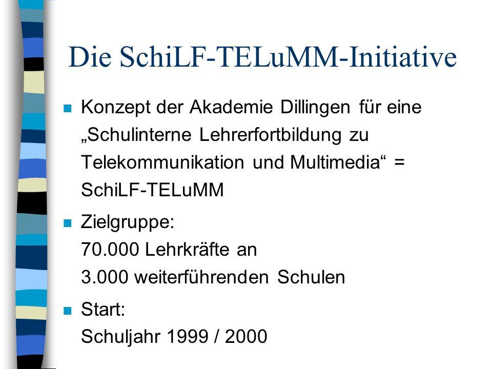 Die SchiLF-TELuMM-Initiative