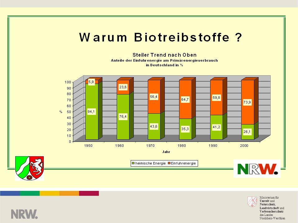 Warum Biokraftstoffe