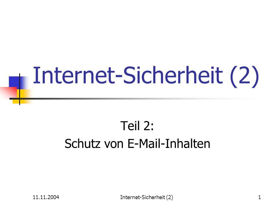 Internet-Sicherheit (2)
