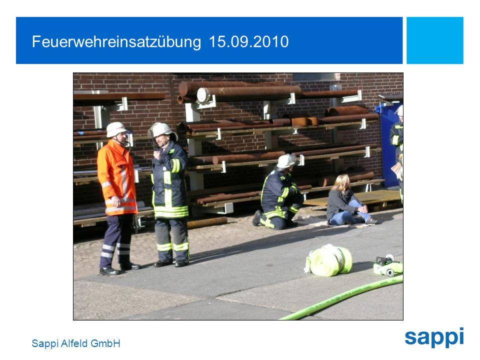Feuerwehreinsatzübung 15.09.2010