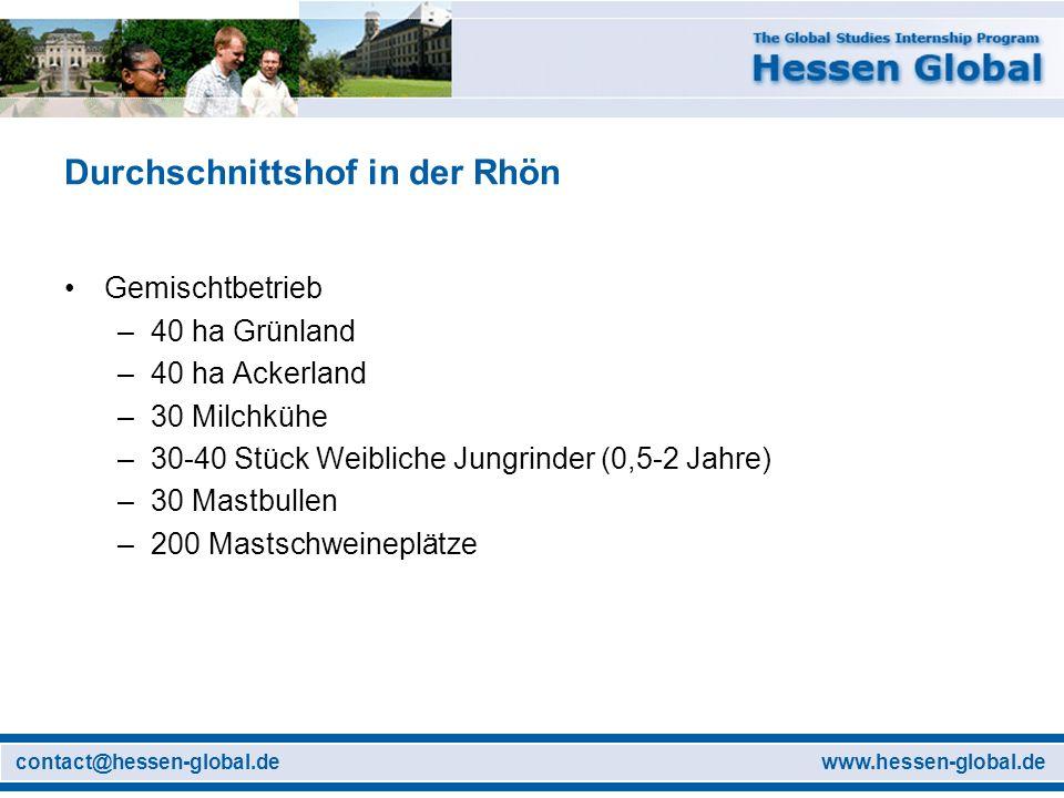 Durchschnittshof in der Rhön