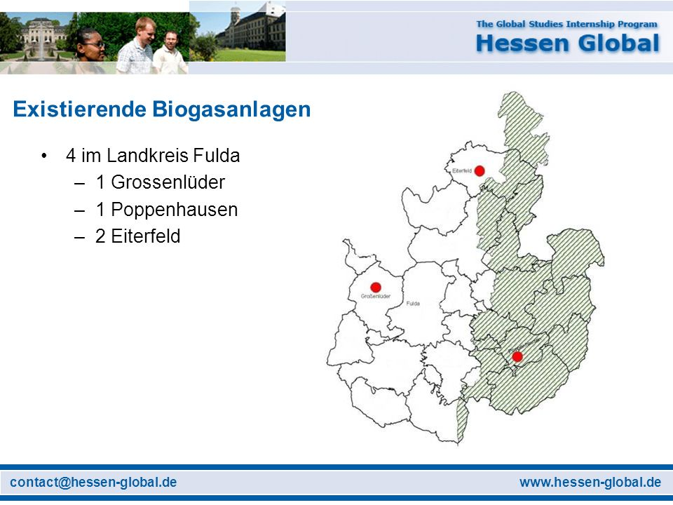 Existierende Biogasanlagen