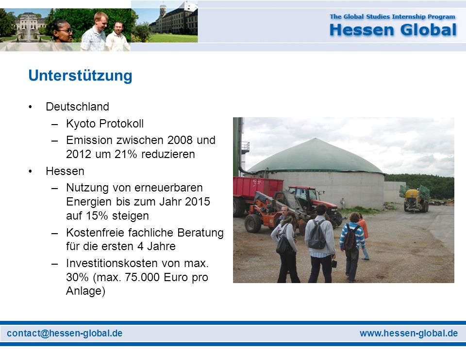 Unterstützung Deutschland Kyoto Protokoll