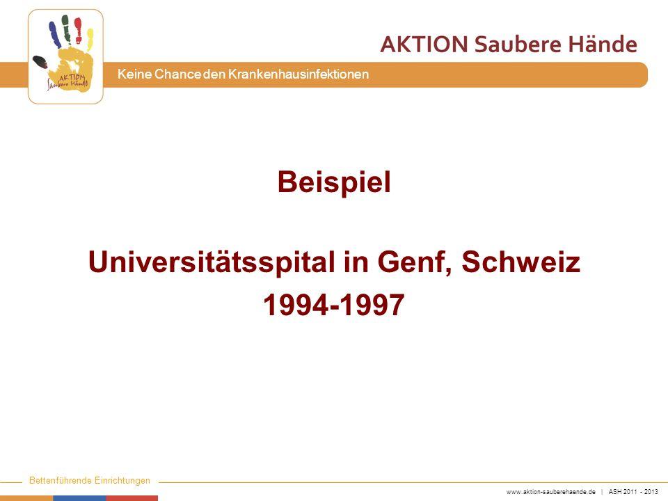 Universitätsspital in Genf, Schweiz