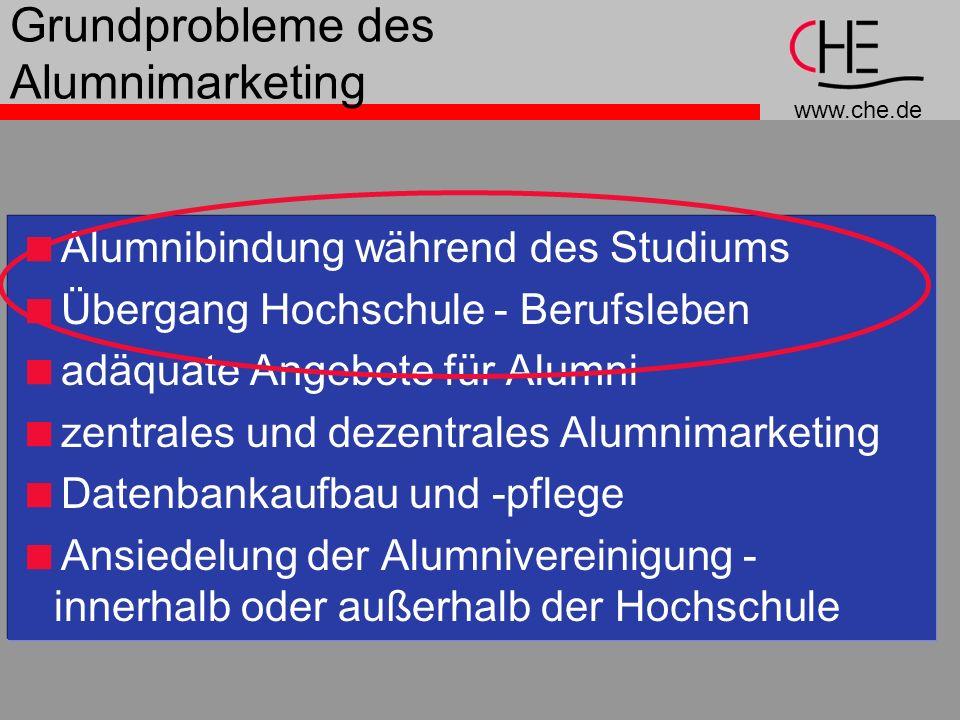 Grundprobleme des Alumnimarketing