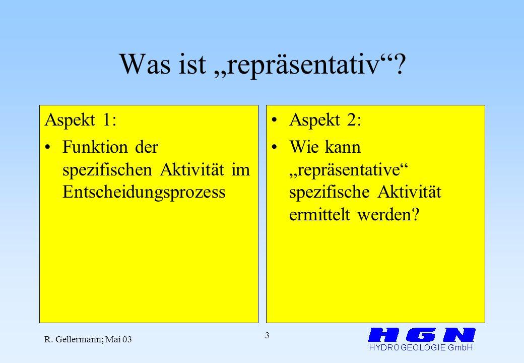 "Was ist ""repräsentativ"