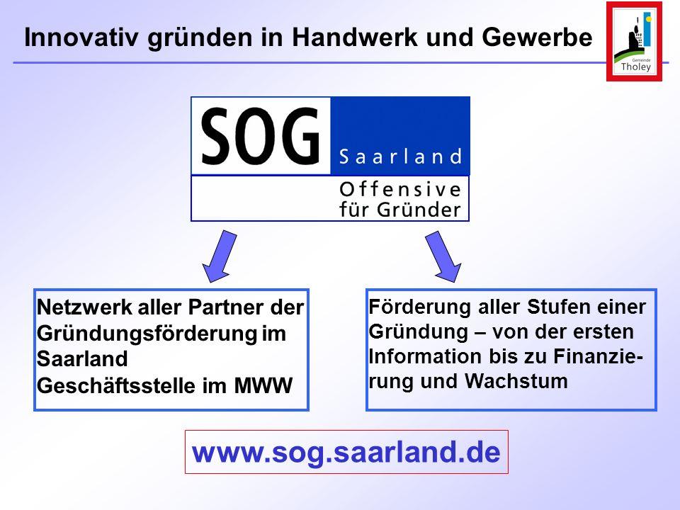 Netzwerk aller Partner der Gründungsförderung im Saarland