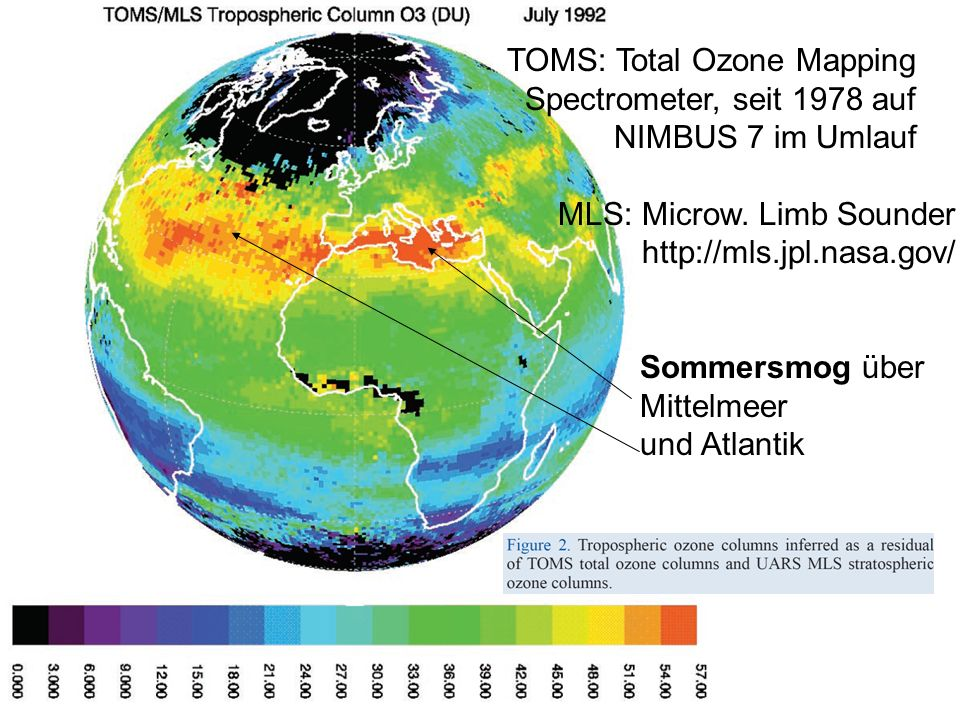 TOMS: Total Ozone Mapping