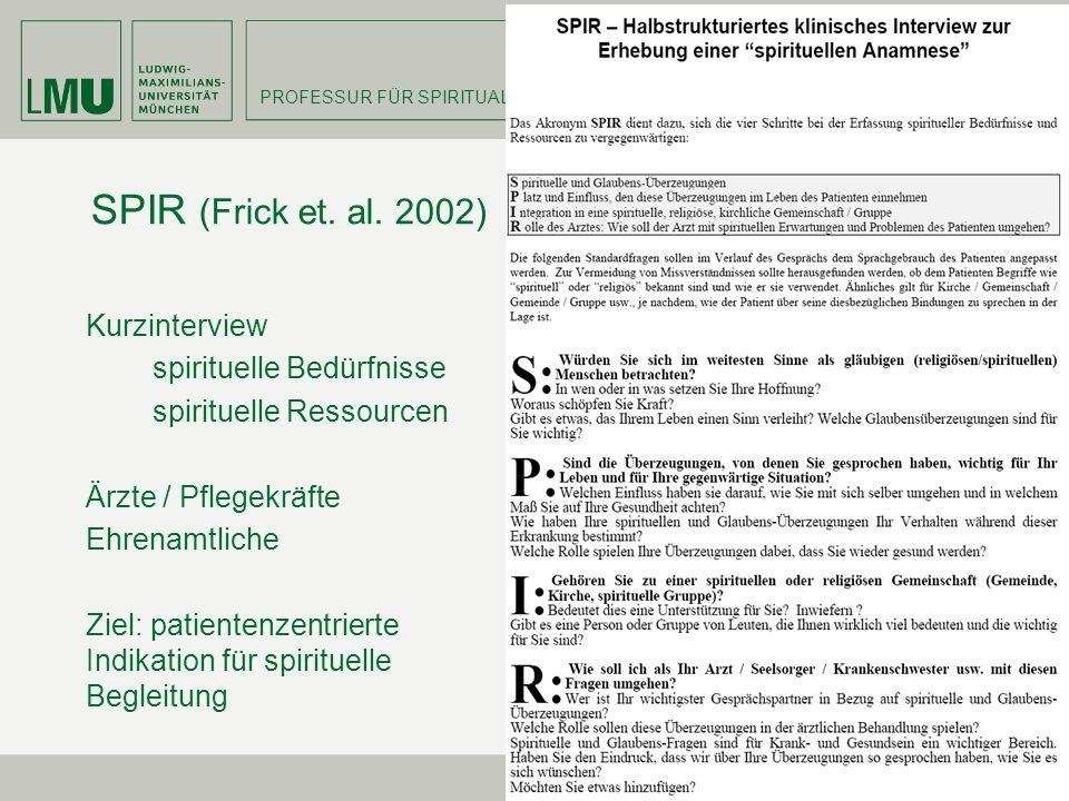 SPIR (Frick et. al. 2002)