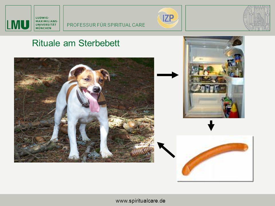 Rituale am Sterbebett www.spiritualcare.de