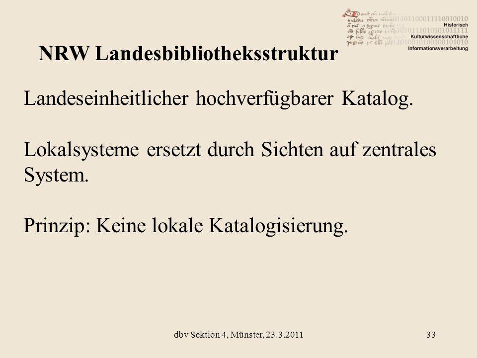 NRW Landesbibliotheksstruktur