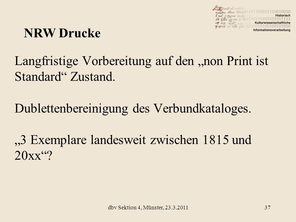 NRW Drucke