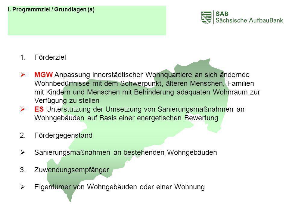 ABCDEF I. Programmziel / Grundlagen (a) Förderziel.