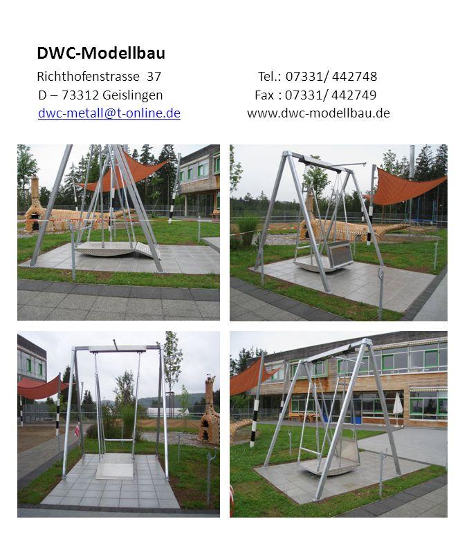DWC-Modellbau Richthofenstrasse 37 Tel