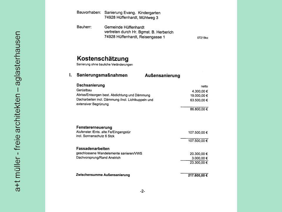 a+t müller - freie architekten – aglasterhausen
