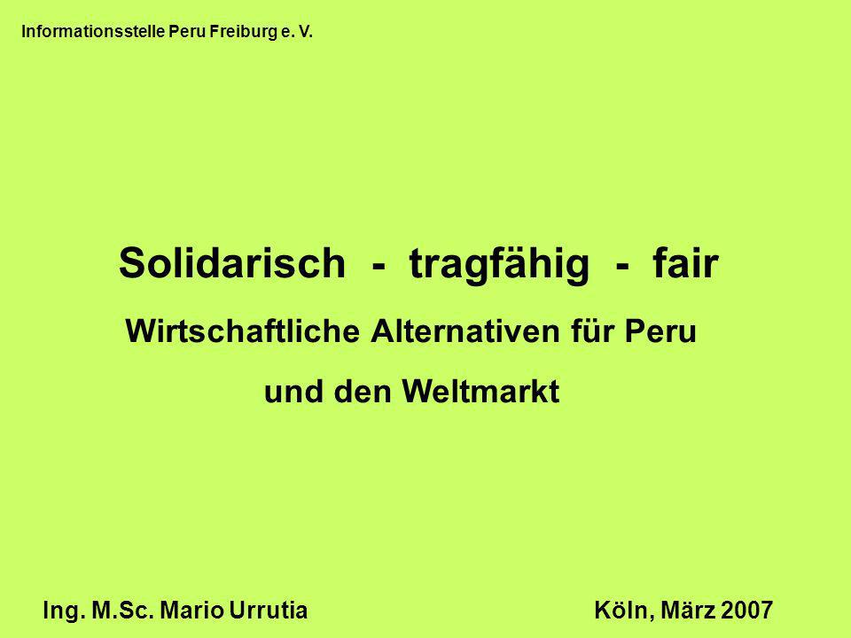 Solidarisch - tragfähig - fair