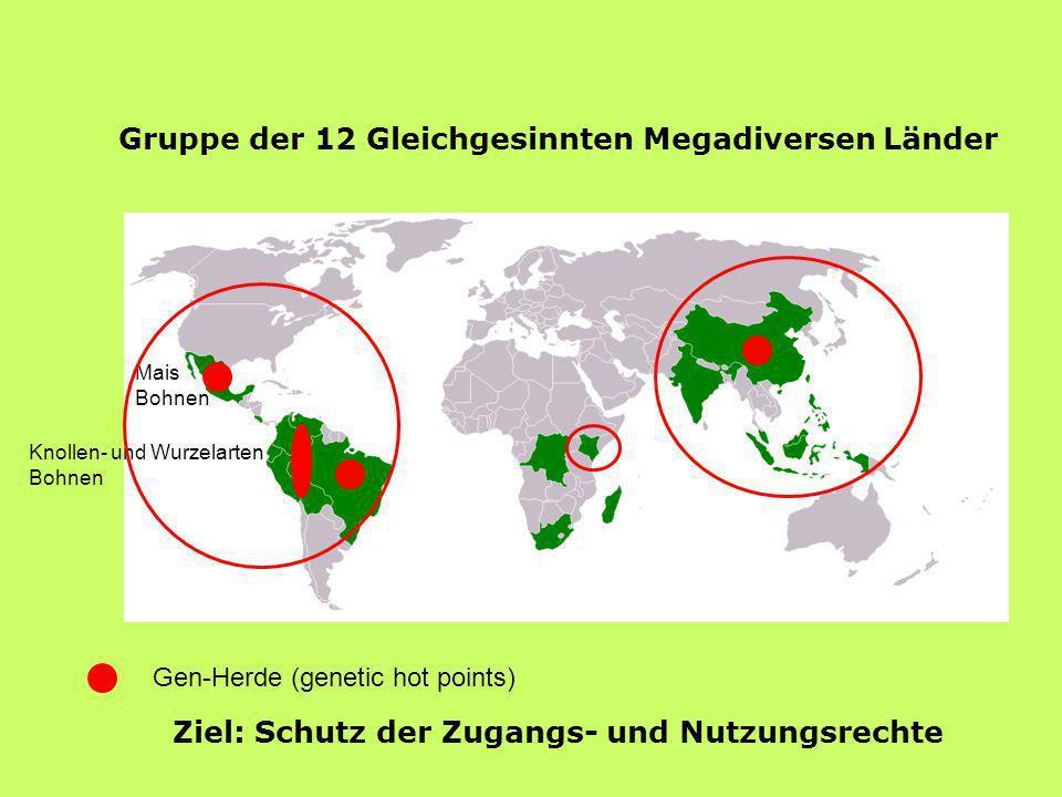 Gruppe der 12 Gleichgesinnten Megadiversen Länder