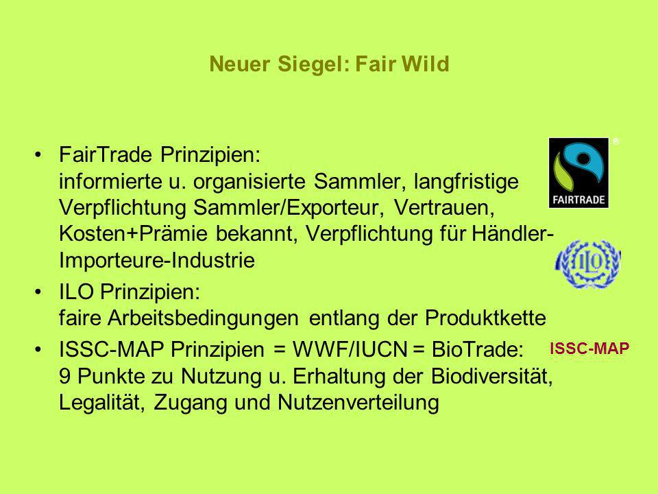 Neuer Siegel: Fair Wild