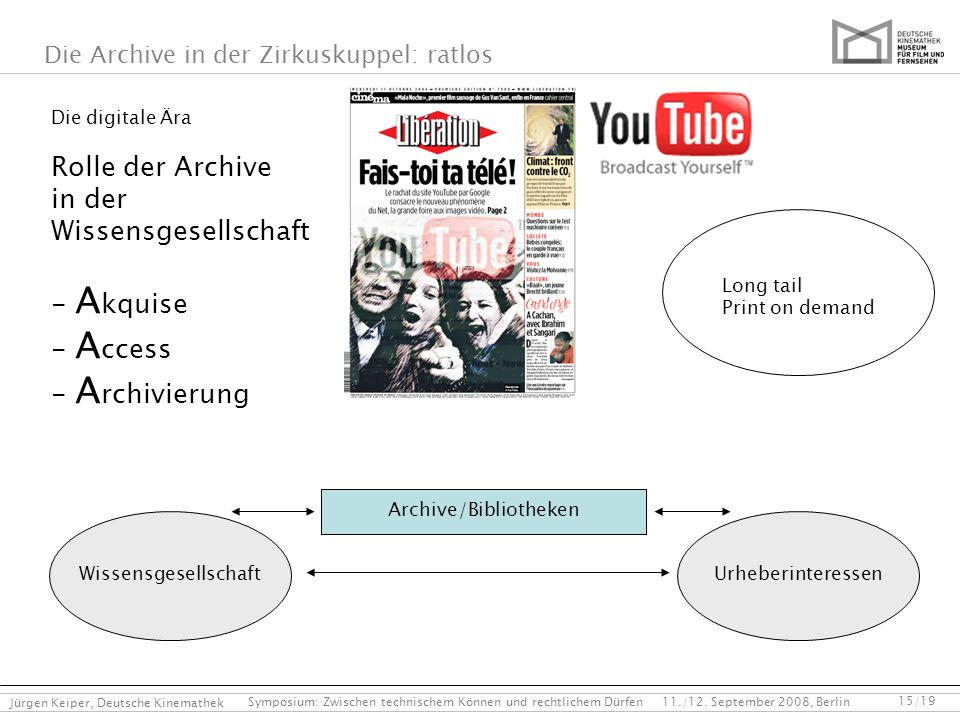 Archive/Bibliotheken