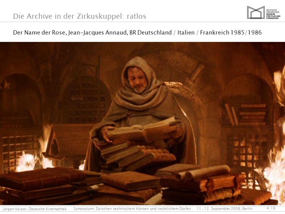 Der Name der Rose, Jean-Jacques Annaud, BR Deutschland / Italien / Frankreich 1985/1986