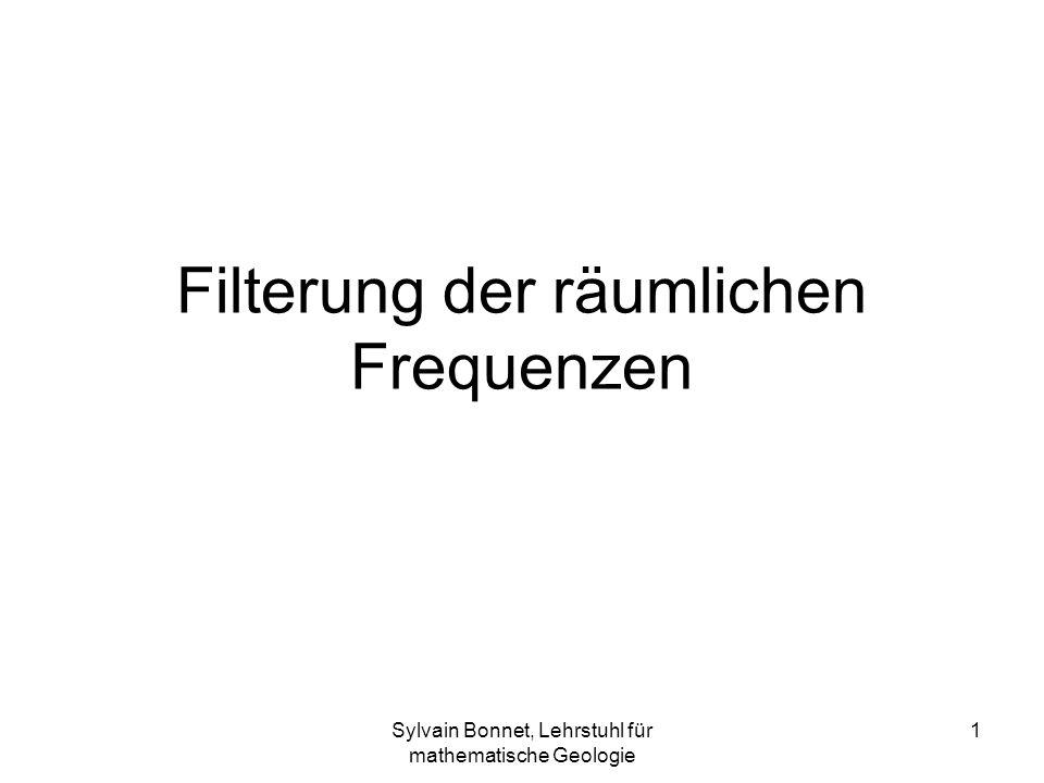 Filterung der räumlichen Frequenzen