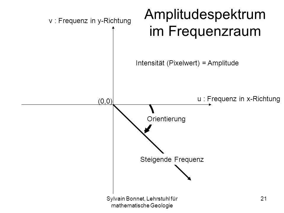 Amplitudespektrum im Frequenzraum
