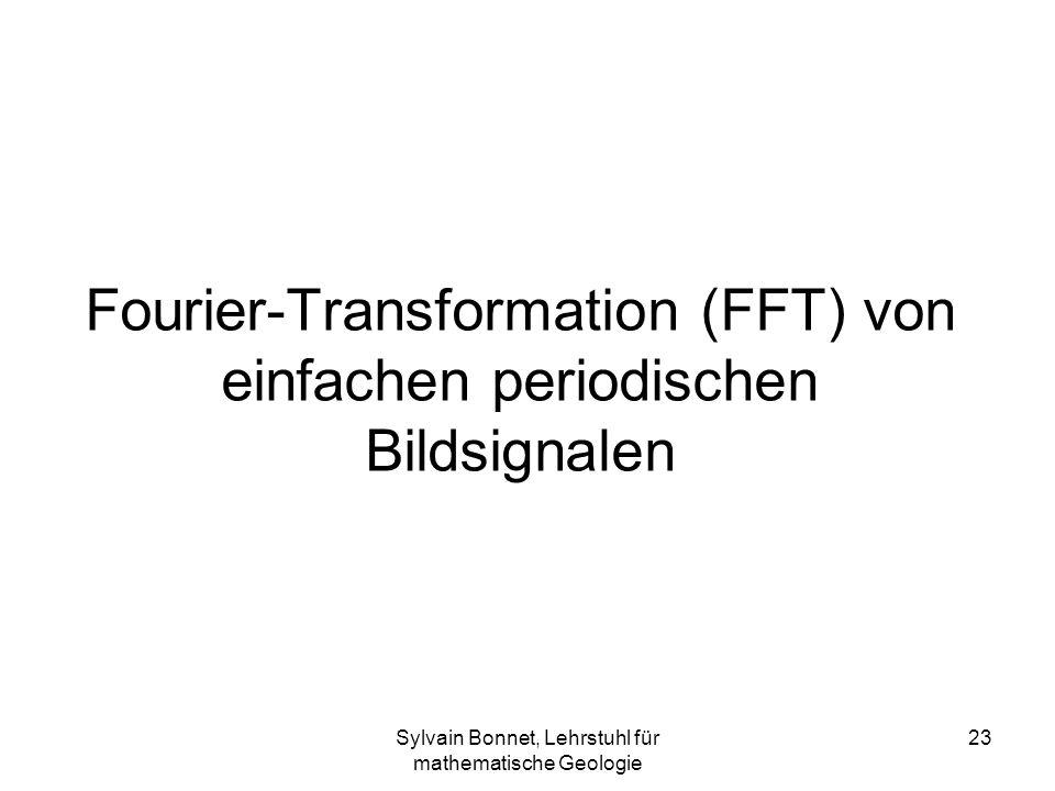 Fourier-Transformation (FFT) von einfachen periodischen Bildsignalen