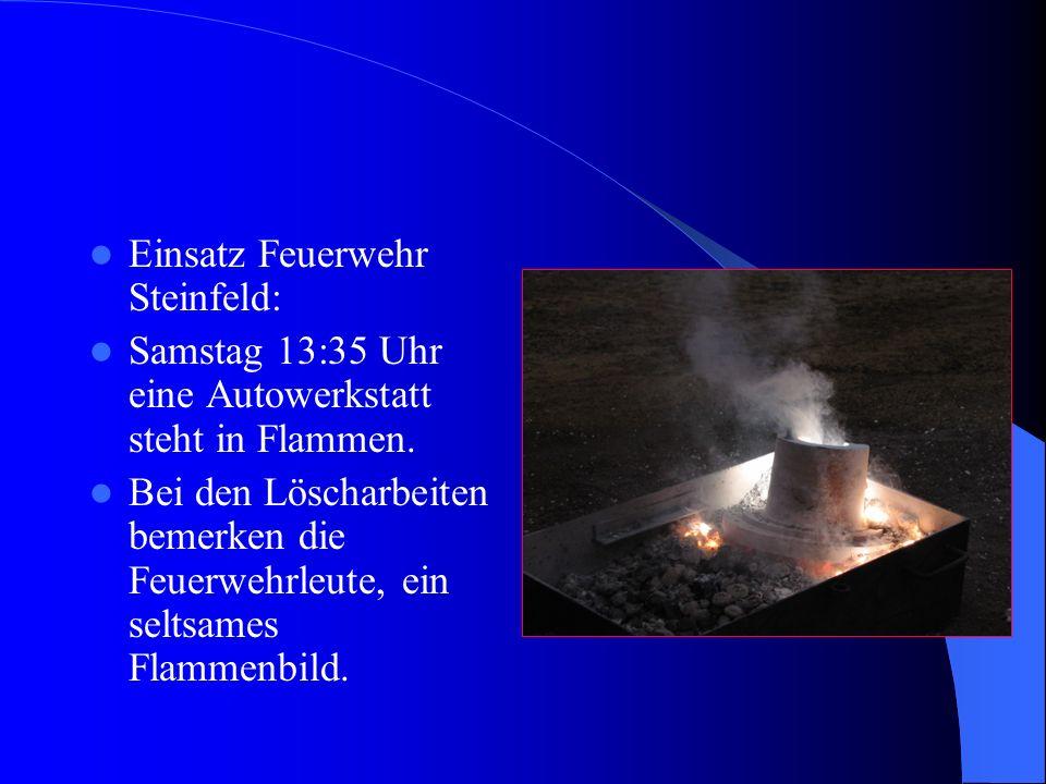 Einsatz Feuerwehr Steinfeld: