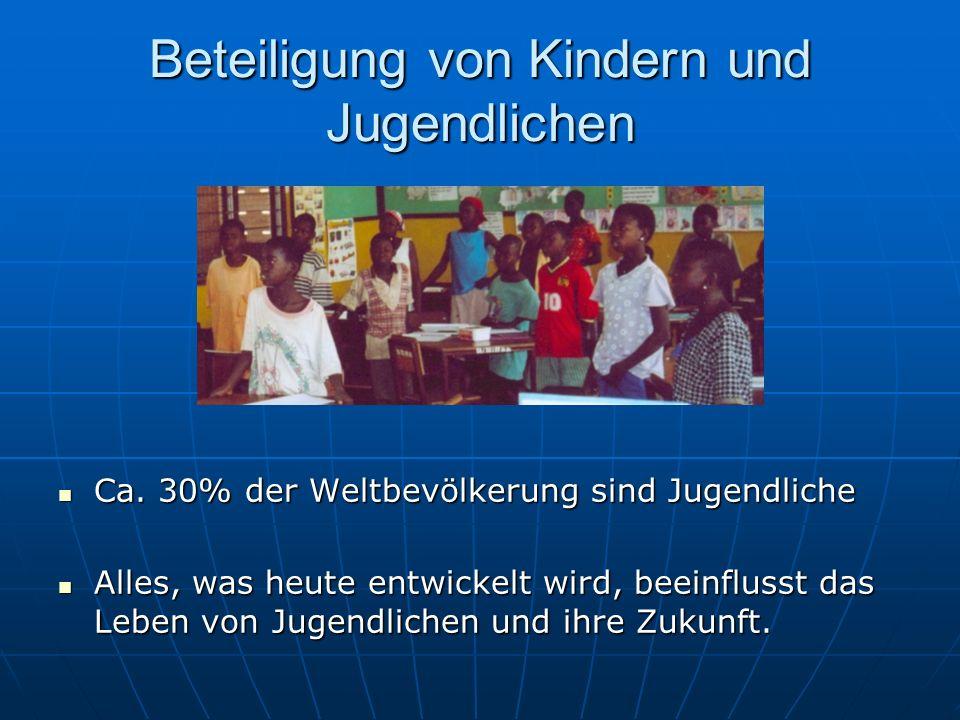 Beteiligung von Kindern und Jugendlichen