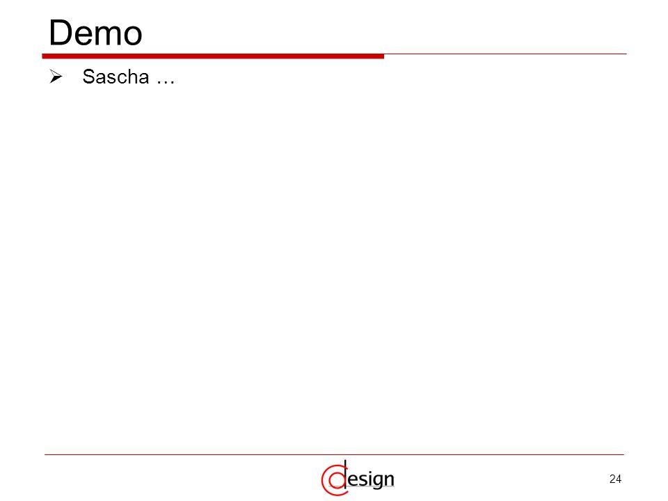 Demo Sascha …