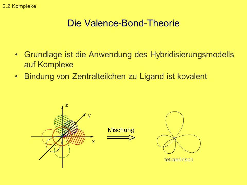 Die Valence-Bond-Theorie