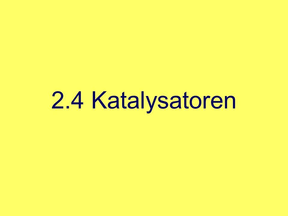 2.4 Katalysatoren