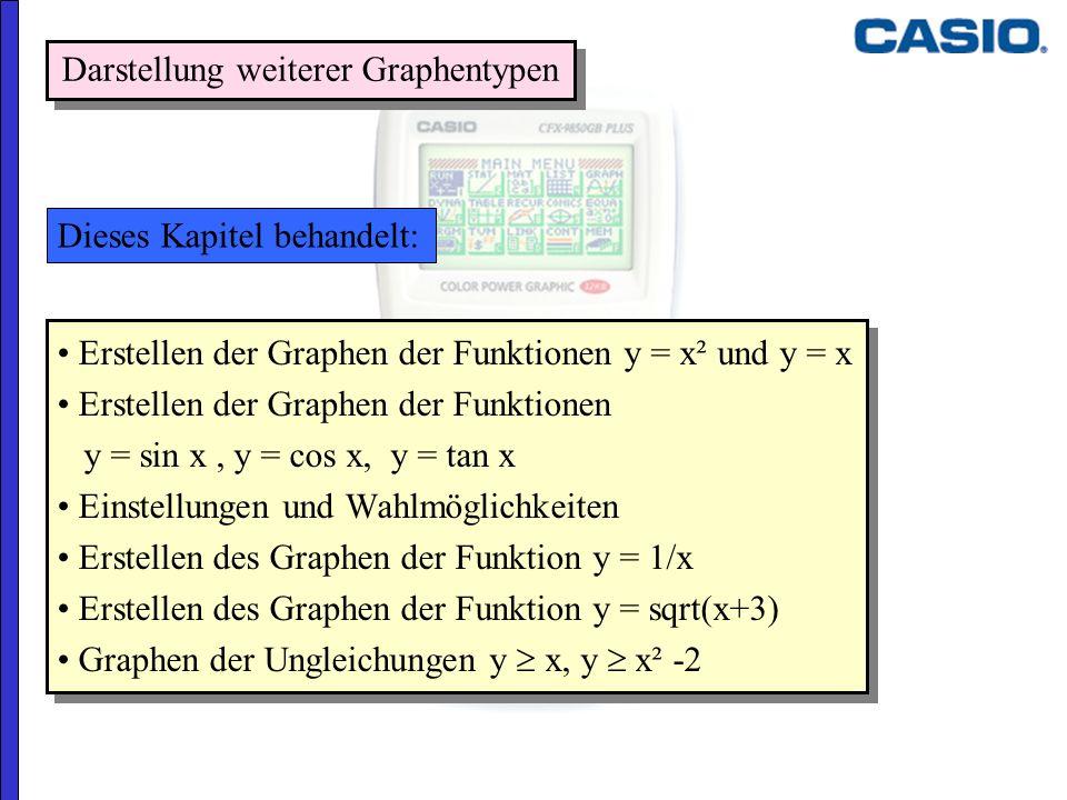 Darstellung weiterer Graphentypen