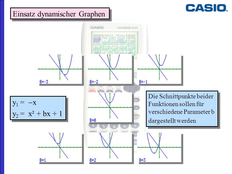 Einsatz dynamischer Graphen