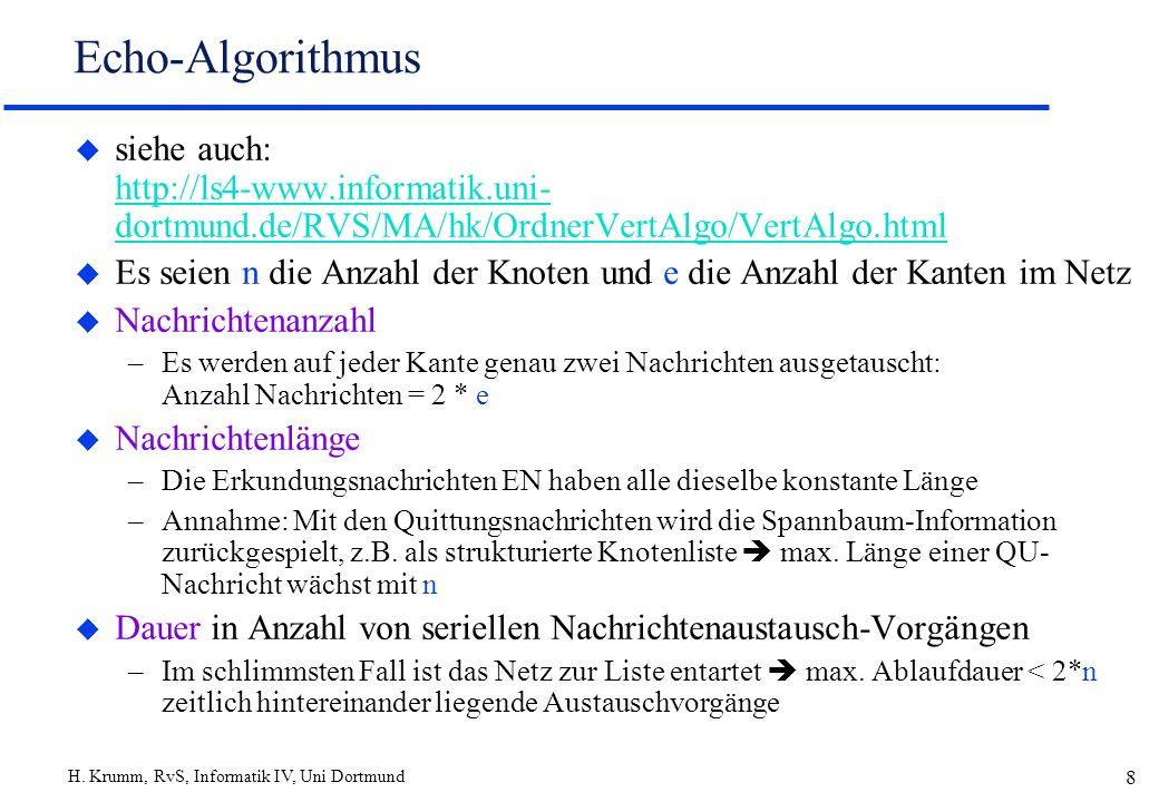 Echo-Algorithmussiehe auch: http://ls4-www.informatik.uni-dortmund.de/RVS/MA/hk/OrdnerVertAlgo/VertAlgo.html.