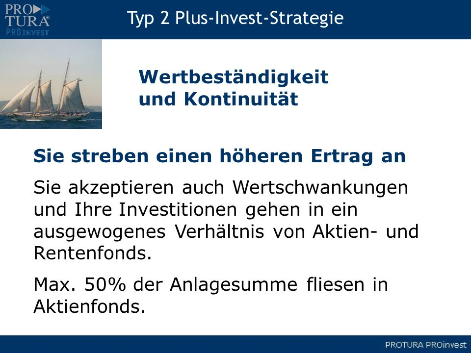 Typ 2 Plus-Invest-Strategie