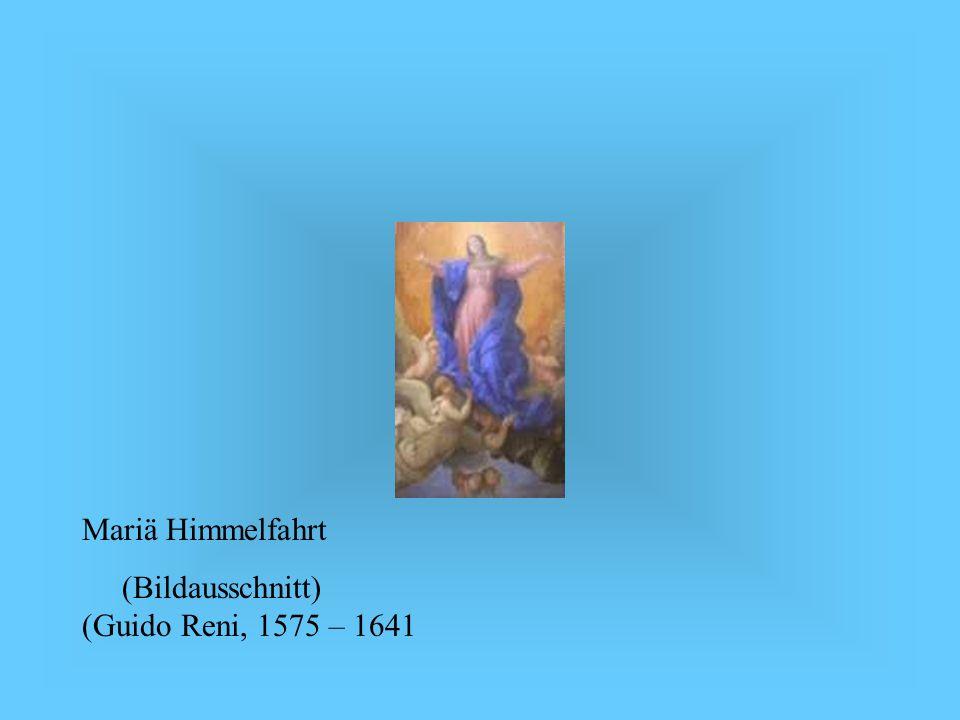 Mariä Himmelfahrt(Bildausschnitt) (Guido Reni, 1575 – 1641.